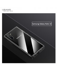 Usams US-BH512 Primary Ultra Thin Silicone Back Case for Samsung Galaxy Note 10 (N970F) Transparent