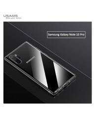 Usams US-BH512 Primary Ultra Thin Silicone Back Case for Samsung Galaxy Note 10+ (N975F) Transparent