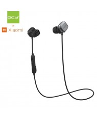 QCY M1 Pro Bluetooth Metal Magnetic Touch Switch Cable Sport Super 3-Fit Earphones with Mic Remote Black