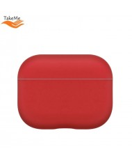 TakeMe Ultra-thin Soft Silicone protective case for Airpods Pro (MWP22ZM/A) Red