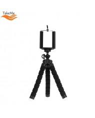 TakeMe Universal Flexible soft Tripod holder for Phones / Cameras (max. 18cm) Black