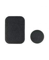 TakeMe Universal Eco-leather magnetic sticker for magnetic car holder or phone case (2pcs)
