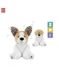 Zazu Danny Dog - Soft toy who sing songs and playing the Peek-a-Boo game for childrens (0+)