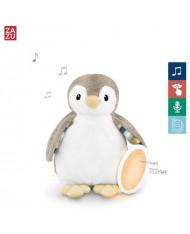 Zazu Phoebe Penguin - Cry sensor / 7 melodies / voice recording & Nightlight for childrens (0+)