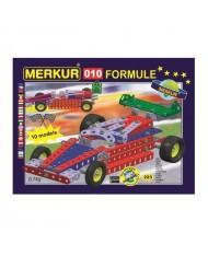 Merkur 010 Retro Dad's Educational Metal Construction 'Formula' 223 parts, 10 models (5y.+)