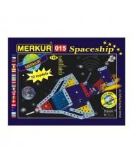 Merkur 015 Retro Dad's Educational Metal Construction 'Spaceship' (195 parts) 10 models (5y.+)