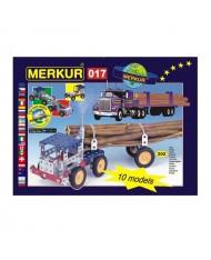 Merkur 017 Retro Dad's Educational Metal Construction 'Truck' (202 parts) 10 models (5y.+)