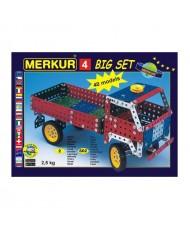 Merkur 4 Retro Dad's Educational Metal Construction 'Mega Set' (602 parts) 40 models (5y+)
