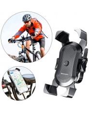 Wozinsky WBHBK2 Durable Steering Wheel Bicycle & Moto Phone (4.7''-6.5'' wide) Mount Holder Black