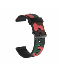 Beline Classic soft silicone strap for Smart Watches with strap width 20mm Camo