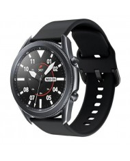 Beline Classic soft silicone strap for Smart Watches with strap width 20mm Black