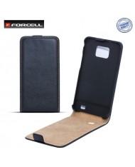 Forcell Slim Flip Case HTC Desire 700 vertical book case Black