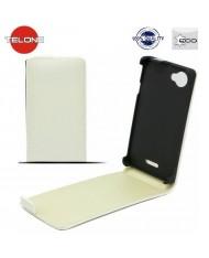 Telone Neo Slim Flip Case Samsung i9500 Galaxy S4 vertical book case White