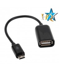 HQ Micro USB OTG Host Cable Micro USB Male to USB Type A (OEM)