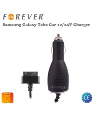 Forever 2.1A Car 12/24V Charger (30pin) Samsung P5100 Galaxy Tab 2