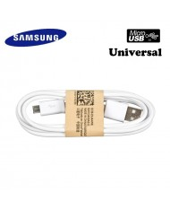 Samsung ECB-DU4AWE G900 S5 / Universal Micro USB 2.0 Data and Charger Cable 1m White (OEM)