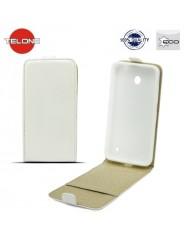 Telone Shine Pocket Slim Flip Case LG D405n Optimus L90 vertical book case White