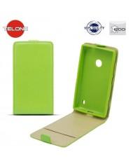 Telone Shine Pocket Slim Flip Case LG D405n Optimus L90 vertical book case Green