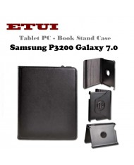 Etui Eco Leather Case with rotated stand Samsung P3200 Galaxy 7.0 Black