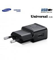 Samsung ETA-U90EBE Universal USB Plug 2A Charger for Phone and Tab Black (OEM)