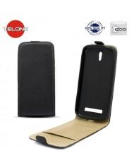 Telone Shine Pocket Slim Flip Case LG D405n Optimus L90 vertical book case Black