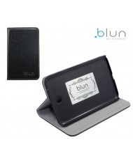 Blun TYS Eco leather Book case with stand Samsung Galaxy Tab 4 7.0 T230 Black