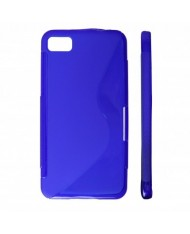 KLT Back Case S-Line LG Swift L3 E400 silicone/plastic case Blue
