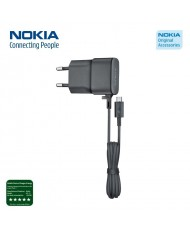 Nokia AC-20E Original Micro USB Charger universal 750mAh Flat Cable (M-S Blister)