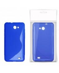 KLT Back Case S-Line LG Swift L5 E610 silicone/plastic case Blue