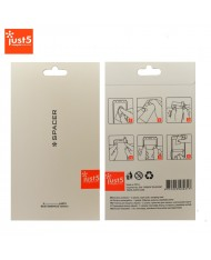 Just5 Spacer Screen protector Glossy (set of 2pcs. for Front)