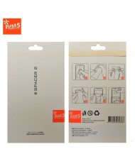 Just5 Spacer 2 Screen protector Glossy (set of 2pcs. for Front)