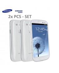 Samsung EFC-1G6SWE Super Slim Back Case i9300 i9301 Galaxy S3 S3 Neo Transparent 2pcs