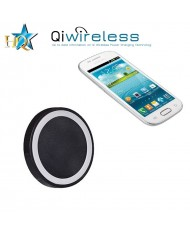 HQ Qi-2 Universal Inductive QI Wireless Charger 5V 1A Plate with USB Power Connection Black/White
