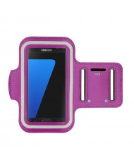 Telone Universal (15x8cm) Armband Pouch Case for Sport - Fitness Running Violet
