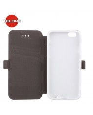 Telone Super Slim Shine Book Case with stand Microsoft Lumia 430 White