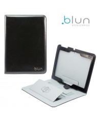 Blun TXP Eco leather Book case with stand Samsung T230 Galaxy Tab 4 7.0 Black