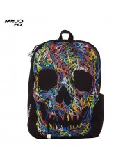 """Mojo """"Crayon Scull"""" Backpack (43x30x16cm) Multi Color"""