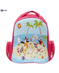 "3D Bag ""Beach"" Backpack (23x14x30cm) Multi Color"