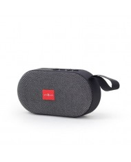 Portable Speaker|GEMBIRD|SPK-BT-11-GR|Portable/Wireless|1xUSB 2.0|1xMicroSD Card Slot|Bluetooth|Grey|SPK-BT-11-GR