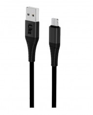 ILike  Charging Cable for MicroUSB ICM01 Black