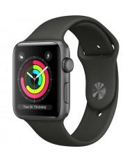 Smartwatch Apple Watch Series 3 8GB space gray 42mm black sport band