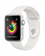 Smartwatch Apple Watch Series 3 8GB silver 42mm white sport band