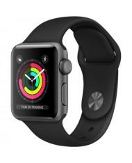 Smartwatch Apple Watch Series 3 8GB space gray 38mm black sport band
