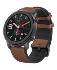 Smartwatch Amazfit GTR 47mm aluminium alloy (brown bands)