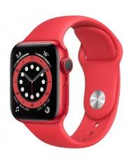 Smartwatch Apple Watch 6 44mm red with regular Sport Band M00M3HC/A