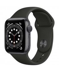 Smartwatch Apple Watch 6 44mm Space gray with Black Sport Band