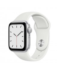 Smartwatch Apple Watch SE 44mm Silver White Sport Band