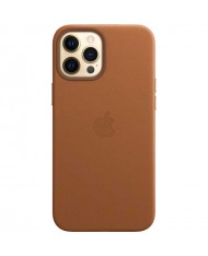 Acc. Case Apple 12 Max Magsafe leather brown