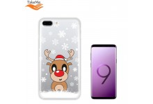 TakeMe special design ultra thin back cover case for Samsung Galaxy S9+ (G965) Snow Deer