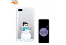 TakeMe special design ultra thin back cover case for Samsung Galaxy S9 (G960) Snowman